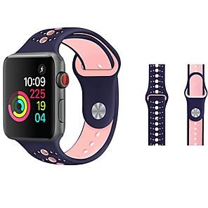 ieftine Peruci & Extensii de Păr-Uita-Band pentru Apple Watch Series 4/3/2/1 Apple Banderola Sport / Catarama Clasica Silicon Curea de Încheietură