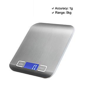 ieftine Cutie de bijuterii și afișaj-5kg/1g High Definition Scară electronică de bucătărie Viata acasa