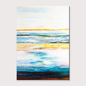 povoljno Bojano-Hang oslikana uljanim bojama Ručno oslikana - Sažetak Klasik Moderna Bez unutrašnje Frame / Valjani platno