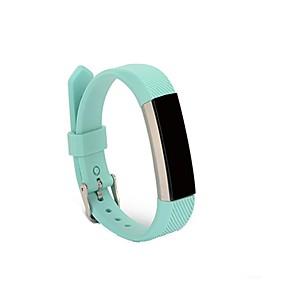 Недорогие Ремешки для спортивных часов-Ремешок для часов для Fitbit Alta HR / Fitbit Ace / Fitbit Alta Fitbit Спортивный ремешок силиконовый Повязка на запястье