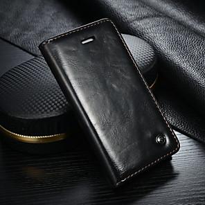 ieftine Carcase iPhone-carcasa caseme pentru apple iphone se / 5s / iphone 5 portofel / suport pentru carduri / cu suport pentru carcasă din corp complet din piele tare