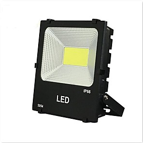 cheap Apple-1pc 50W COB Led Floodlight Warm Clod White Color Waterproof Outdoor Lighting for Courtyard Garden AC185-265V