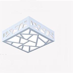 25 cm LED Skyllmonteringslys Tre / Bambus Tre / Bambus Malte Finishes Moderne Moderne 90-240V