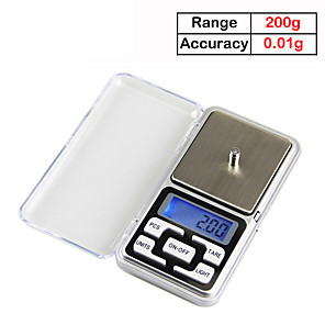 cheap Apple-200gX0.01g Electronic Balance Cuisine Digital Kitchen Scale ELectronicos Kitchen Tool Food Scales LCD Display Weighing Scale
