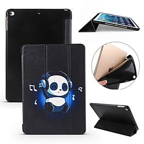 ieftine Carcase iPad-Maska Pentru Apple iPad Air / iPad 4/3/2 / iPad Mini 3/2/1 Anti Șoc / Întoarce / Ultra subțire Carcasă Telefon Panda Moale Silicon