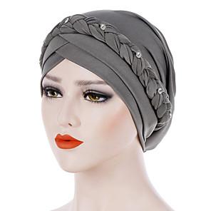 ieftine Pălării Femei-Pentru femei Floppy Nailon Petrecere Vintage Nuntă - Mată Fluture Plisată Toate Sezoanele Alb Negru Galben / Material Textil