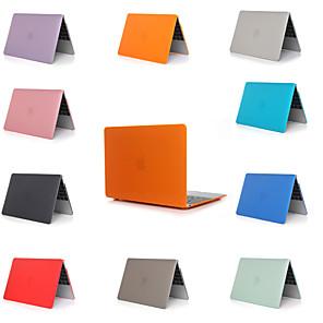 "povoljno MacBook Pro 15"" maske-macbook laptop slučaj za jabuka macbook zrak 11 12 13 15 čvrste boje pvc materijal za mac knjiga novi pro 13,3 15 inčni sa touch bar \ t"