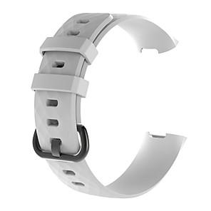 ieftine Mufă de încărcare-Uita-Band pentru Fitbit Charge 3 Fitbit Banderola Sport Silicon Curea de Încheietură