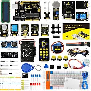 ieftine Conectoare & Terminale-keyestudio set de pornire / kit de învățare (uno r3) pentru setul de pornire arduino cu 32 de proiecte 1602 lcd