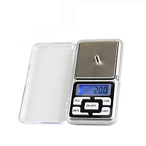 ieftine Adaptor-500g/0.01g Portabil Scala bijuterii digitale Viata acasa