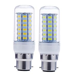 ieftine Becuri LED Corn-SENCART 1 buc 12 W Becuri LED Corn 1600-1900 lm B22 56 LED-uri de margele SMD 5730 Decorativ Alb Cald Alb Rece 220-240 V 110-130 V / RoHs