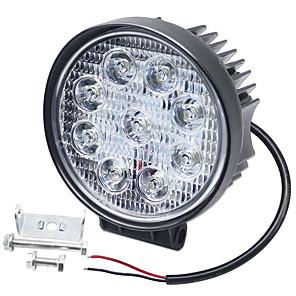 ieftine Faruri de Mașină-Becuri auto 1 buc 27 w led led integrat 6000 lm 9 led de ceață / lumină de funcționare în timpul zilei / lumină de rotație pentru universal toți anii