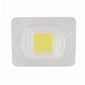 ieftine LED-uri-1pc 50w 220V cob cu cip LED cu lentilă pentru diy inundații lumina reflectoarelor alb cald alb