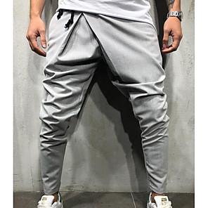 ieftine Accesorii Ceasuri-Bărbați Exagerat Zilnic Pantaloni Sport Pantaloni Mată Cordon Negru Verde Militar Gri Deschis M L XL