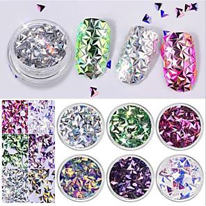 ieftine Colier la Modă-6 pcs Multi Function / Cea mai buna calitate Materiale ecologice Paiete Pentru Creative nail art pedichiura si manichiura Zilnic La modă / Modă