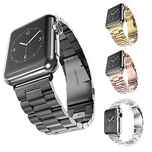 ieftine Părți Motociclete & ATV-Uita-Band pentru Apple Watch Series 4/3/2/1 Apple Banderola Sport Oțel inoxidabil Curea de Încheietură