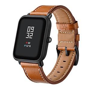 ieftine Îngrijire Unghii-Uita-Band pentru Huami Amazfit Bip Younth Watch Xiaomi Banderola Sport / Catarama Clasica Piele Autentică Curea de Încheietură