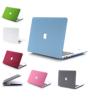 "povoljno MacBook Pro 13"" maske-MacBook Slučaj / Kombinirana zaštita Jednobojni PVC za MacBook Pro 13-inch cu ecran Retina / MacBook Air 13"" / New MacBook Air 13"" 2018"