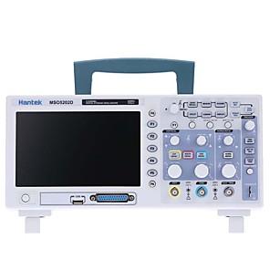 billige Digitale Multimetre & Oscilloskoper-hantek 200mhz mso5202d blandet signal digitalt oscilloskop 16 logiske kanaler +) + 2 analoge kanaler + ekstern triggerkanal