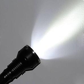 ieftine lanterne-Lanterne LED Rezistent la apă 3000 lm LED LED 3 emițători 5 Mod Zbor Rezistent la apă Rezistent la Impact Mâner antialunecare Camping / Cățărare / Speologie Utilizare Zilnică Polițist / Militar