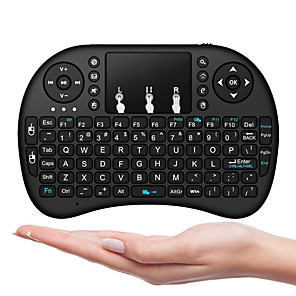 ieftine Mănuși Cycling-I8B Air Mouse / Tastatură / Telecomandă Mini 2.4GHz Fără fir Air Mouse / Tastatură / Telecomandă Pico Pentru