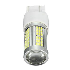 hesapli Gündüz Yanan Işıklar-35 w 2400lm xenon beyaz yüksek güç 102-smd fiat 500 için led gündüz çalışan ampul led