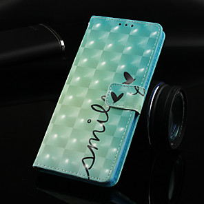 ieftine Produse Fard-Maska Pentru Samsung Galaxy Galaxy S10 / Galaxy S10 Plus / Galaxy S10 E Portofel / Titluar Card / Cu Stand Carcasă Telefon Cuvânt / expresie Greu PU piele