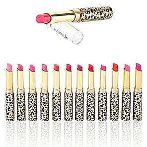 ieftine buze-12 pcs 12 Culori Dame / Protecţie / Buze Mat / Sclipici Multifunctional Profesional / Calitate superioară Machiaj Cosmetic Accesorii de Ingrijire