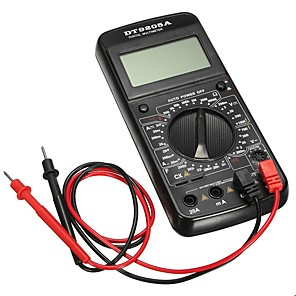 billige Digitale Multimetre & Oscilloskoper-DT-9205A Digitalt multimeter 1000DC or 700VAC Praktisk / Måleinstrumenter / Pro