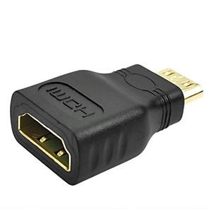 ieftine HDMI-1080p mini masculin hdmi la standard hdmi adaptor de extensie feminin