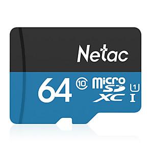 ieftine Cutie de bijuterii și afișaj-Netac 64GB card de memorie UHS-I U1 / Class10 P500