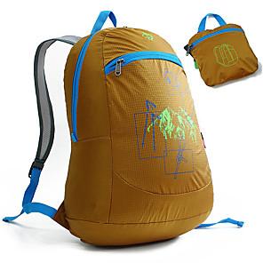 ieftine Aurii cu fir cu fir-Jungle King 30 L Rucsaci Rucsac ambalat ușor Ușor Compact packable În aer liber Drumeție Nailon Albastru Roz Kaki