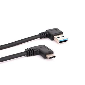 ieftine USB-uri-YONGWEI YW-U2X002 1 USB 3.1 tip C USB 3.0 Bărbați-Bărbați 10 Gbps 0.3M (1ft)