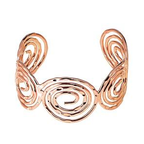 ieftine Brățări-Pentru femei Brățări Bangle Brățări Bantă Geometric Stilat stil vestic Aliaj Bijuterii brățară Roz auriu / Maro deschis / Argintiu Pentru Concediu Muncă Festival
