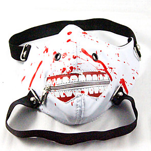 povoljno Halloween smink-Mask Inspirirana Tokio Ghoul Cosplay Anime Cosplay Pribor Mask PU koža Muškarci novi vruć Noć vještica
