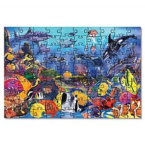 ieftine Puzzle-Animale marine Puzzle Ameliorează ADD, ADHD, anxietate, autism Copilului Jucarii Cadou