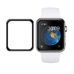 povoljno Zaštita zaslona za iPhone X-Screen Protector Za Apple Watch Series 4 / Apple Watch Series 3/2/1 Kaljeno staklo Ultra tanko 1 kom.