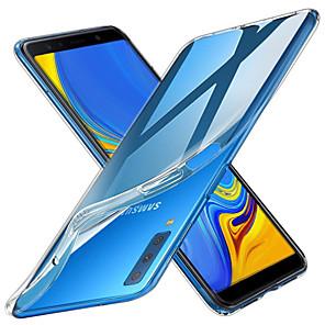 Недорогие Чехлы и кейсы для Galaxy А-Кейс для Назначение SSamsung Galaxy A6 (2018) / A6+ (2018) / Galaxy A7(2018) Прозрачный Кейс на заднюю панель Однотонный Мягкий ТПУ