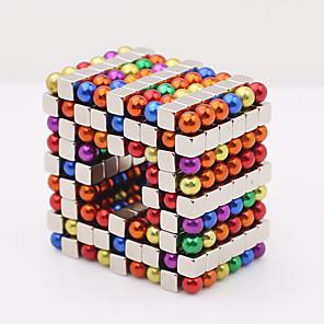 ieftine Jucării cu Magnet-216 pcs Jucării Magnet Jucărie magnetică bile magnetice Jucării Magnet Lego Puzzle cub Exterior Crăciun Stres și anxietate relief Clasic O noua sosire Creative Adulți / Adolescent Jucarii Cadou