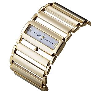 ieftine Becuri LED Glob-ASJ Pentru femei Ceas Elegant Piața de ceas Japoneză Quartz Japonez Argint / Auriu Ceas Casual Analog Lux minimalist - Auriu Argintiu Un an Durată de Viaţă Baterie / SSUO SR626SW + CR2025