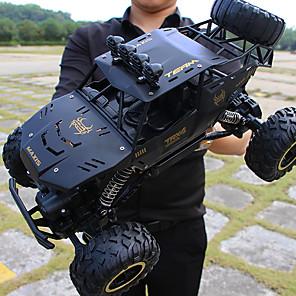 Недорогие Другие радиоуправляемые игрушки-Машинка на радиоуправлении 9168 10.2 CM 2.4G На дороге / Автомобиль (дорожный) / Багги (внедорожник) 1:12 Нитро 15 km/h Высокая скорость / На пульте управления / Горные