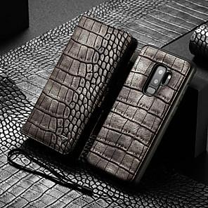 povoljno Naušnice-Θήκη Za Samsung Galaxy S9 Plus Novčanik / Utor za kartice / Otporno na trešnju Korice Jednobojni Tvrdo PU koža
