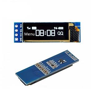 ieftine Senzori-i2c oled modul de afișare 0.91 inch i2c ssd1306 oled driver de ecran alb dc 3.3v5v pentru arduino