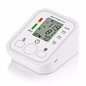 povoljno Testeri i detektori-1pcs digitalni lcd nadlaktica krvnog tlaka monitor srca metar stroj