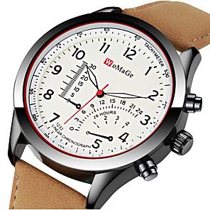 ieftine Organizatoare Birou-Bărbați Ceas Sport Ceas Elegant Ceas de Mână Quartz Piele Negru / Maro Creative Cool Analog - Digital Lux Modă Aristo - Maro Negru / Alb Kaki Un an Durată de Viaţă Baterie