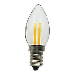 ieftine Becuri LED Lumânare-1 buc 1.5 W Becuri LED Lumânare 30 lm E12 1 LED-uri de margele Decorativ 180-240 V / RoHs