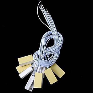 povoljno Sigurnosni senzori-10pcs / lot magnetski kontakt reed prekidač ožičen prozor prozora otvoren alarm senzor prekidač magnet za vrata normalno zatvorena