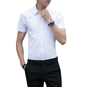 povoljno Muški satovi-Veći konfekcijski brojevi Majica Muškarci Jednobojni Obala