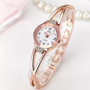 ieftine Cuarț ceasuri-Pentru femei Quartz ceas de aur Quartz Oțel inoxidabil Argint / Roz auriu Ceas Casual Încântător Analog Casual Modă - Negru Argintiu Roz auriu Un an Durată de Viaţă Baterie