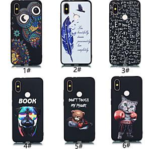 povoljno Maske/futrole za Xiaomi-Θήκη Za Xiaomi Redmi Note 5A / Xiaomi Redmi Note 5 Pro / Xiaomi Redmi Note 4X Ultra tanko / Uzorak Stražnja maska Životinja / Crtani film Mekano TPU / Xiaomi Redmi 4A